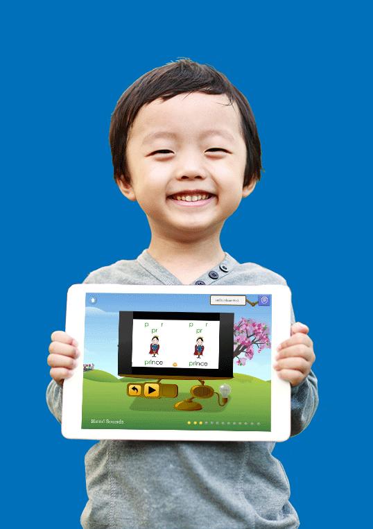 iPad Smile Boy